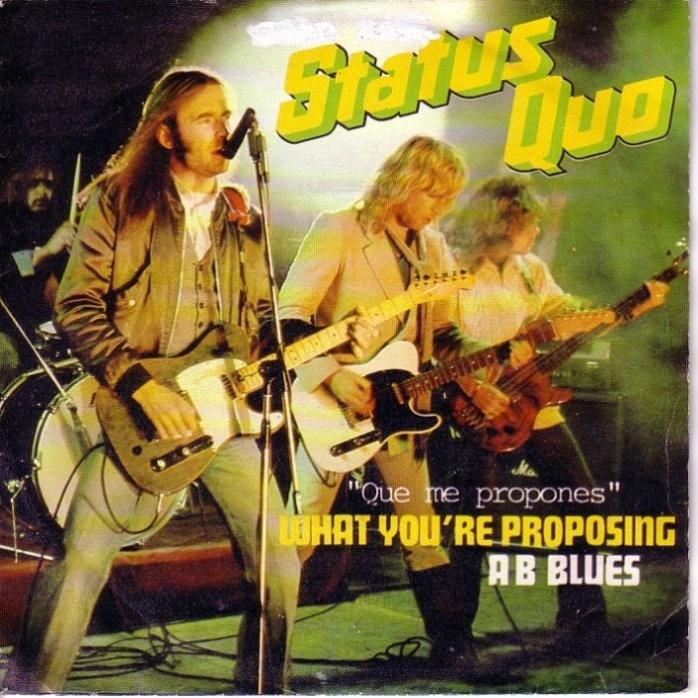 Status Quo Que Me Propones